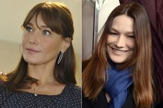 Carla Bruni-Sarkozy: The frozen woman? The 44 year-old first lady of France and former model