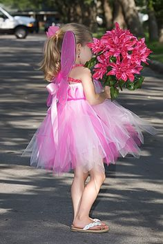 Rosetta Pixie Tutu Dress 0-5T Great for Halloween Birthdays or Portraits. $44.95, via Etsy.