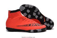 detailed pictures 42eb1 39f16 Buty Halowe Nike MercurialX Proximo Street Indoor Jaskrawy Szkarłat Czarne  Niebieski