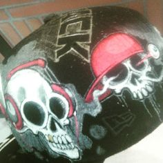 @Hatrack_FR: #Unik #Skull #Cap #hatrack #Collab #Gomjahrash #Newera #Cap #Paintng #StreeWear  #streetar https://t.co/vL43OFhXCG https://t.co/wJA6YkQvQt