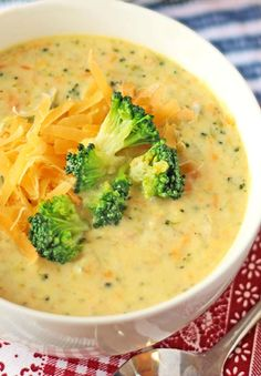 Low Carb Broccoli Cheese Soup – Low Carb Recipe