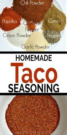 Taco Seasoning Easy, Seasoning Mixes, Enchilada Seasoning Recipe, Best Chili Seasoning Recipe, Tandoori Seasoning Recipe, Chili Spice Mix Recipe, Mexican Chicken Seasoning, Homemade Fajita Seasoning, Mexican Food Recipes