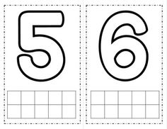 Number Playdough Mats {FREE} by Pocketful of Centers Numbers Kindergarten, Numbers Preschool, Learning Numbers, Writing Numbers, Learning Letters, Preschool Activities, Circle Crafts Preschool, Ten Frames, Printable Preschool Worksheets