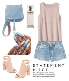 """К чукотским мудрецам"" by yana-miroshkina on Polyvore featuring Kendall + Kylie, Gap, Steve Madden, RE/DONE and Calvin Klein"