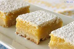 meyer lemon bars-purchased some meyer lemons, so need to make these