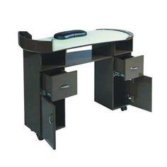 Details About Ascot Nail Technicians Table Desk Beauty