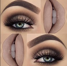 Eye Makeup Tips.Smokey Eye Makeup Tips - For a Catchy and Impressive Look Kiss Makeup, Cute Makeup, Gorgeous Makeup, Pretty Makeup, Makeup For Prom, Prom Makeup For Brown Eyes, Ball Makeup, Rock Makeup, Fall Wedding Makeup