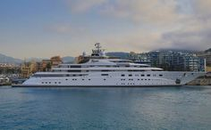 Joint 5th. Topaz - Topaz is a 482ft (147m) motor yacht, custom built in 2012 by Lurssen Yachts. The yacht's interior has been designed by Terence Disdale and has exterior styling by Tim Heywood Design. Picture: Peter Seyfferth, TheYachtPhoto.com