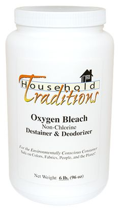 Oxygen Bleach - 6 lbs. - this sounds great I want to try it in my laundry