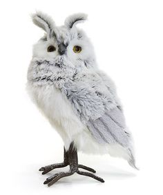 This Otto the Owl Figurine is perfect! #zulilyfinds