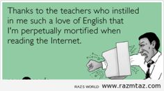 THANKS.. TO THE TEACHERS WHO INSISTED .....