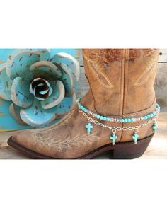 Boot candy? It's like being able to wear your boots and show off your ankle bracelet!
