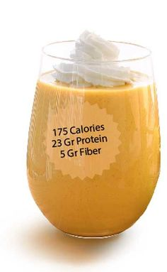 Vanilla Pumpkin Weight Loss Smoothie  Only 175 Calories   Protein Packed To Squash Cravings & Sweet Tooth   Be sure to Sign Up for Weight Loss Help From Bitbite
