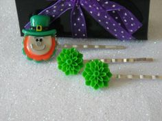Irish Leprechaun St. Paddy's Day and Green by OctoberPetals, $7.95