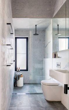Amazing bathroom shower ideas, On a budget walk in modern bathroom designs DIY Master ceilings, no door and with glass door - Small bathroom shower Bad Inspiration, Bathroom Inspiration, Bathroom Ideas, Bathroom Organization, Bathroom Storage, Budget Bathroom, Bathroom Inspo, Bathroom Shelves, Countertop Organization