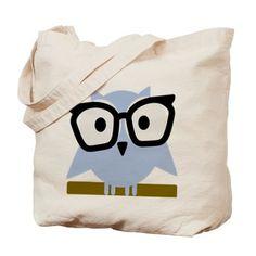 geek owl Tote Bag on CafePress.com