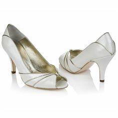 008c7067f87c Rachel Simpson Shoes - Eva Peep Toe Wedding Shoes