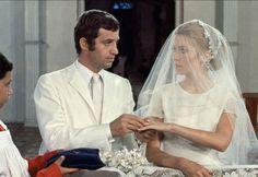 Jean-Paul Belmondo et Catherine Deneuve dans le film La Sirène du Mississipi de François Truffaut de 1969