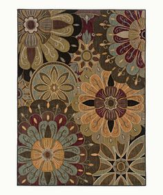 Love this STYLEHAVEN Tan Amante Rug by STYLEHAVEN on #zulily! #zulilyfinds