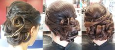 bridesmaid updos from my friends wedding
