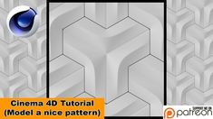 Model a nice Pattern (Cinema Tutorial) Vfx Tutorial, Cinema 4d Tutorial, Motion Design, Nik Collection, Photoshop, 3d Texture, Interactive Design, Layout, Nice