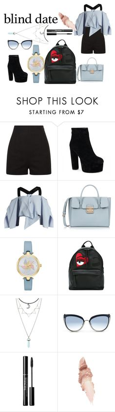 """""""Untitled #94"""" by softbell ❤ liked on Polyvore featuring Roland Mouret, Furla, Kate Spade, Chiara Ferragni, Karl Lagerfeld and Maybelline"""
