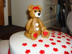Valentine's Day cake used for my Cake Demonstration at Crawford