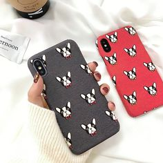 Specifications: Bulldog Soft iPhone CaseCompatible Brand: Apple iPhonesFeatures and Function: Cute Bulldog Red Soft Back Cover / Dirt-Resistant Anti-Knock Shoc