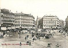 Puerta del Sol. 1893. Hauser y Menet.