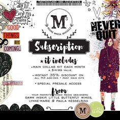 Mixed Media Monthly Subscription