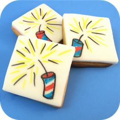 drawing on food | The Decorated Cookie