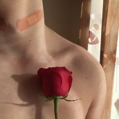 """""""If you wanted it to be romantic, you should've left the hickeys visible"""" Lizzie Hearts, Aesthetic Boy, Tattoos, Beauty, Color, Grunge, Roses, Neil Josten, Akira Kurusu"""