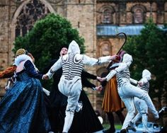 The dance of death. Theatrum Mundi festival, Durham 2016. Photo credit: Michael Baker