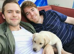 YouTuber Shane Dawson (Right) and Ryland Adams in a picture shared on Instagram in October 2016...