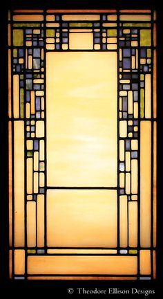 Art Deco inspired Stained Glass by Theodore Ellison Designs. Stained Glass Quilt, Stained Glass Designs, Stained Glass Projects, Stained Glass Patterns, Stained Glass Windows, Craftsman Stained Glass Panels, Modern Stained Glass Panels, Leaded Glass, Mosaic Glass