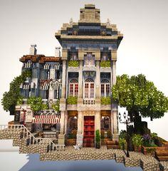 Minecraft | city building Minecraft Mods, Minecraft Kunst, Minecraft City Buildings, Minecraft Structures, Minecraft Plans, Minecraft Houses Blueprints, Minecraft House Designs, Minecraft Architecture, Cool Minecraft Houses