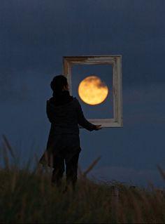 Love this moon series by Laurent Laveder! (via design crush)