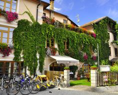 Near the Austrian border, enjoy lunch in San Candido on Day 5 of VBT's #Dolomites vacation. #Italy