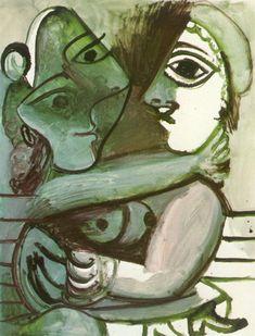Couples et Duos chez Pablo Picasso Pablo Picasso Quotes, Pablo Picasso Drawings, Picasso Sketches, Art Picasso, Picasso Portraits, Picasso Paintings, Oil Paintings, Henri Rousseau, Henri Matisse
