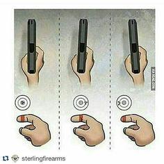 Vejamos como o modo de pegar a arma altera o resultado do disparo. 🎯🎯🎯📑🌎🔥🇧🇷 #Repost @sterlingfirearms with @repostapp ・・・ #Repost @sterlingfirearms ・・・ #asksterlingfirearms  #firearms #praticotiro #gun #brasil #shoting
