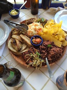 Typical Nigaragua food