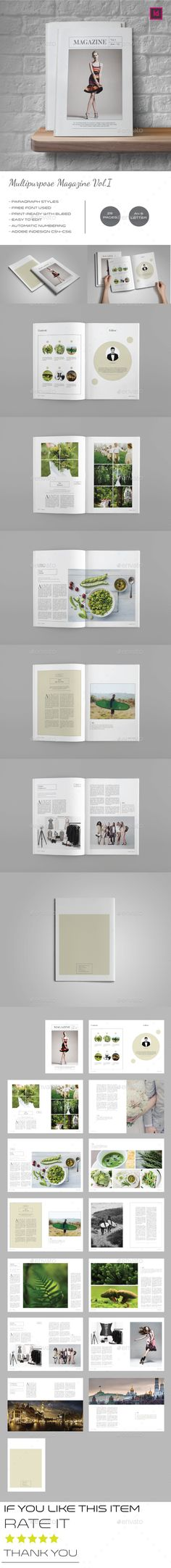 Multipurpose Magazine Template Vol.I - Magazines Print Templates Download here : https://graphicriver.net/item/multipurpose-magazine-template-voli/16825632?s_rank=159&ref=Al-fatih
