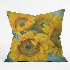 Lisa Argyropoulos Sunny Disposition Throw Pillow | DENY Designs Home Accessories