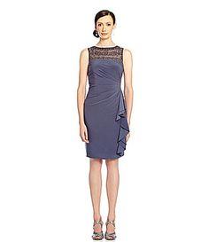 Gray Grey Bridesmaid Dress | $60 | Dillards | wedding ceremony reception bridesmaids maid of honor silver