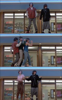 Each one of us is a brain...and an athlete... and a basket case...a princess...and a criminal. Sincerely yours, the Breakfast Club. I always try and do this dance when it comes on