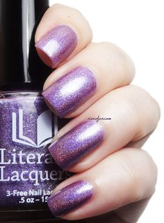 Dreamsnake  Full Sized Holographic Nail Lacquer by LiteraryLacquer