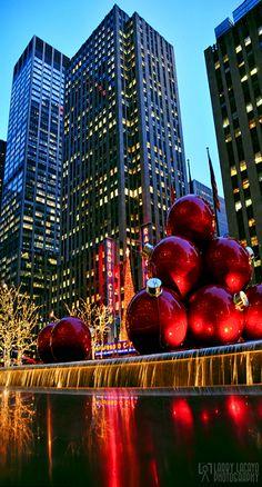 Navidad en Nueva York.