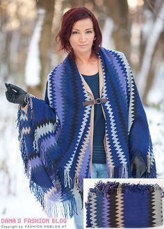 Fashion DIY Tutorial: Aus einer Ikea-Tagesdecke in nur wenigen Schritten einen Poncho machen