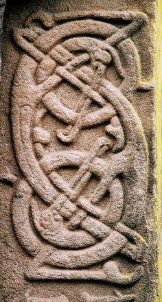 Detail of Aberlemno Cross