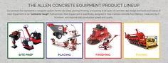 We recently added Allen Engineering products to our inventory. Allen concrete tools are contractor tough, and specifically designed to improve site-prep, placing, finishing and paving all types of concrete!  Available at #intermountainconcretespecialties #utah ics50.com
